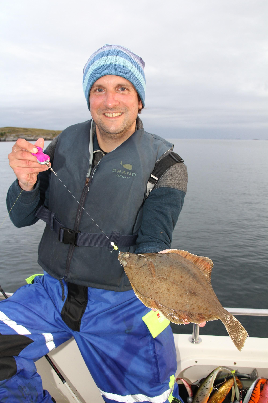 Klieschen kommen in Norwegen, der Ostsee und Nordsee recht häufig vor und gehen beim Plattfischangeln an den Haken (Foto: Christian Münz)