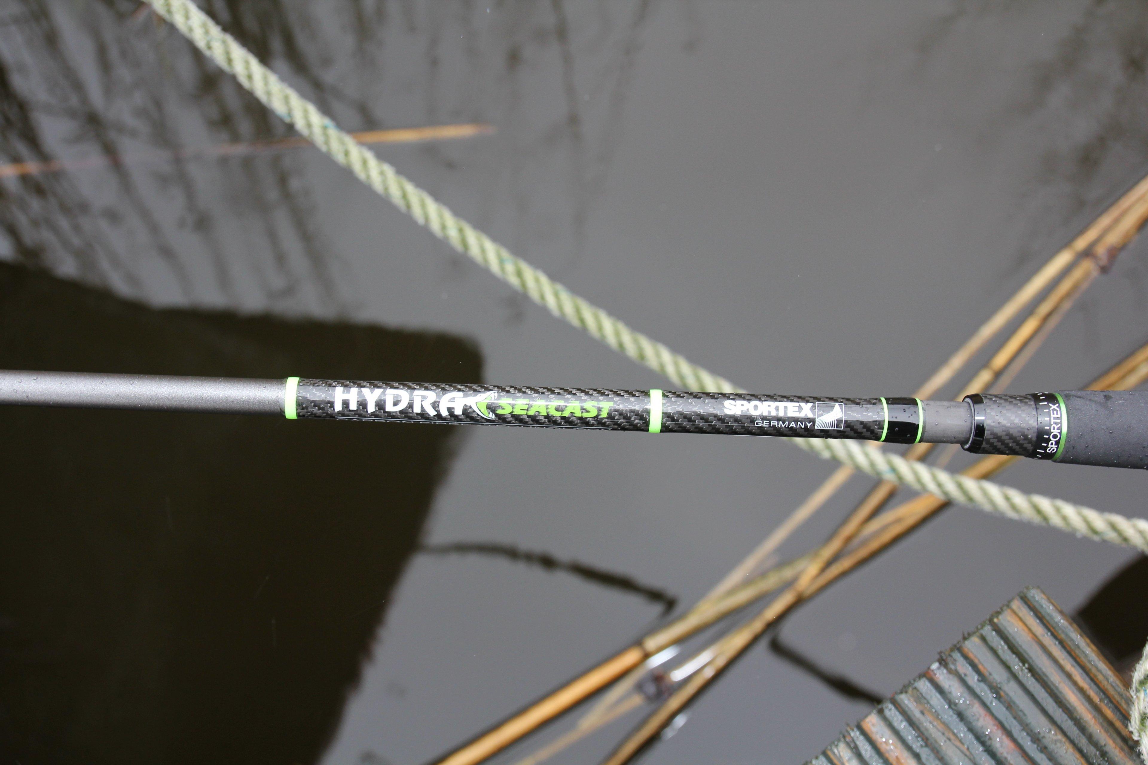 Die Sportex Hydra Speed Seacast macht sowohl am Meer als auch am Süßwasser eine gute Figur.