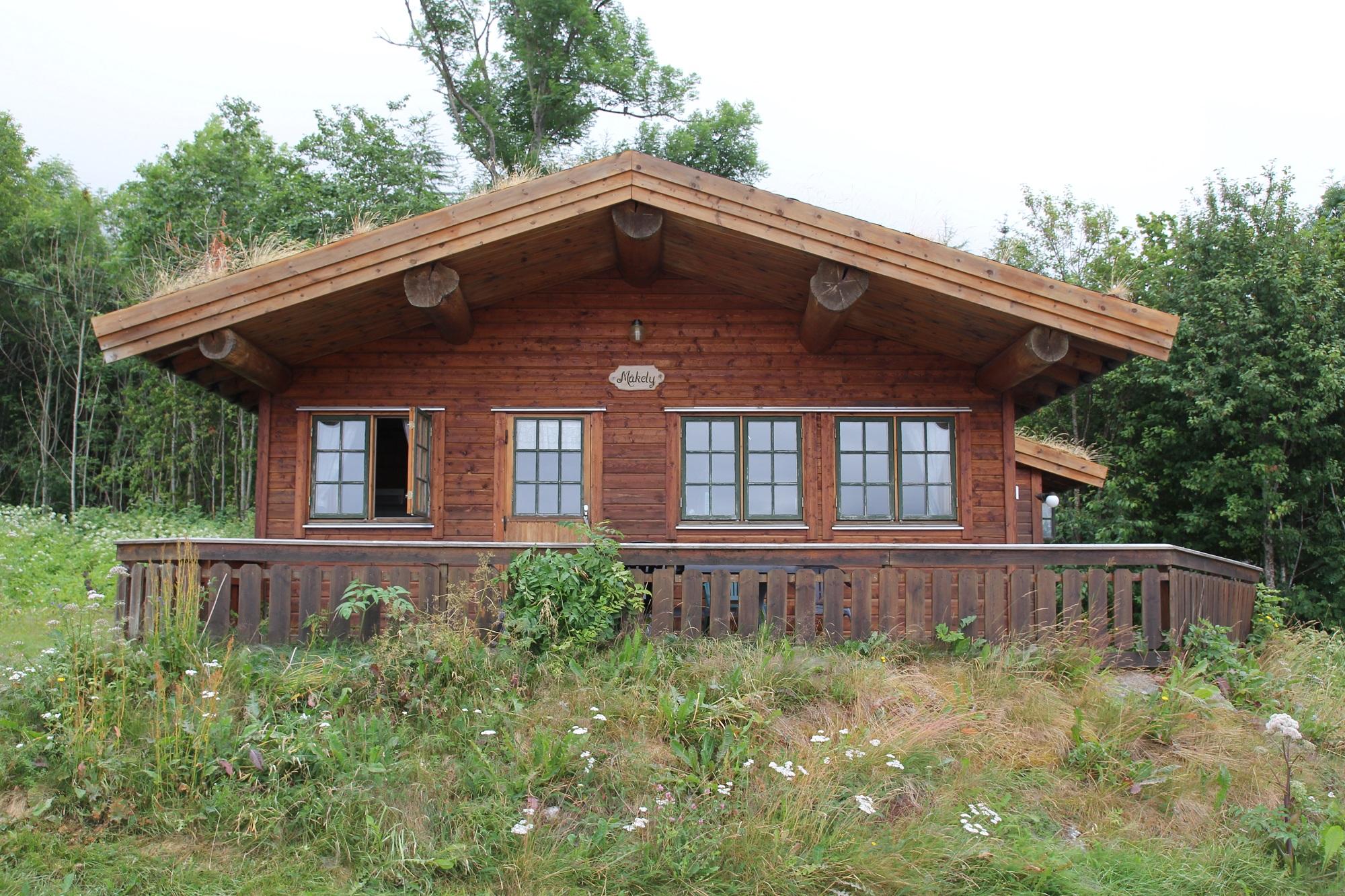 Die gemütlichen Hütten des Camps